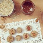 Recette : Petits délices protéinés aux flocons et aux amandes