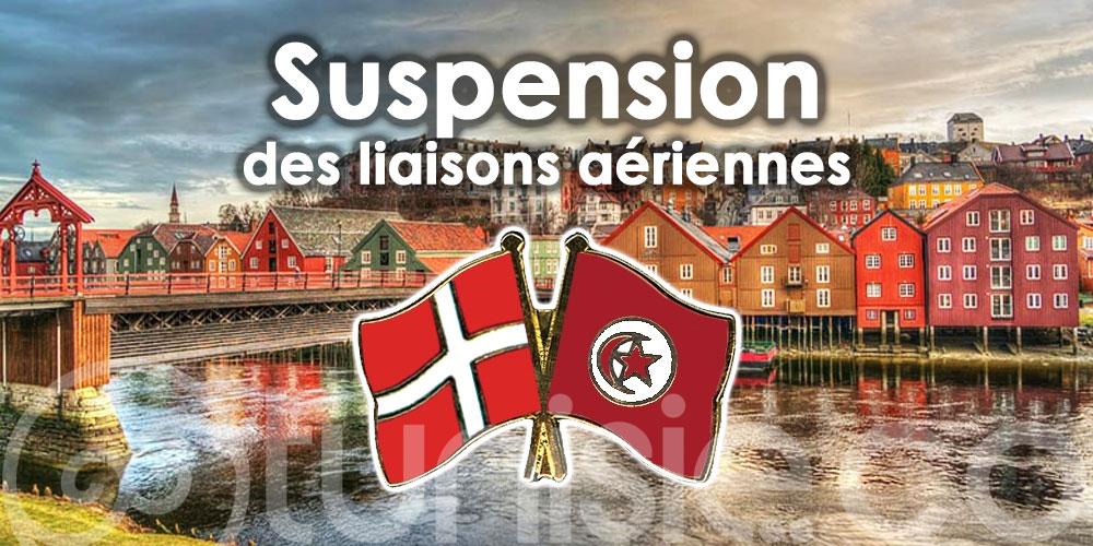 La Tunisie suspend ses liaisons aériennes avec le Danemark