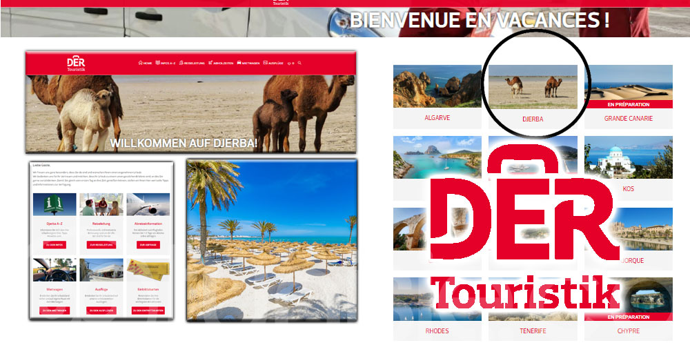 Der Touristik maintient la destination Djerba pour cet été