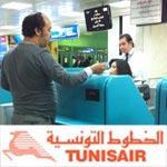 Important : Les enregistrements à l'aéroport Tunis Carthage fermeront 60 minutes avant le vol