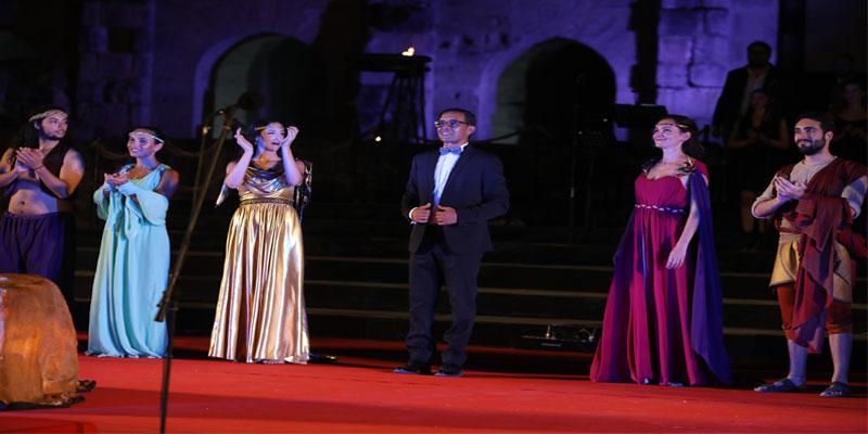 Didon et Enée de l'Orchestre et Chœur de l'Opéra de Tunis au Festival International D'El Jem
