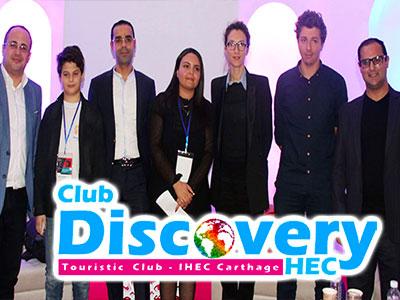 En vidéo : L'Entrepreneuriat Digital au service du Tourisme par le club Discovery HEC