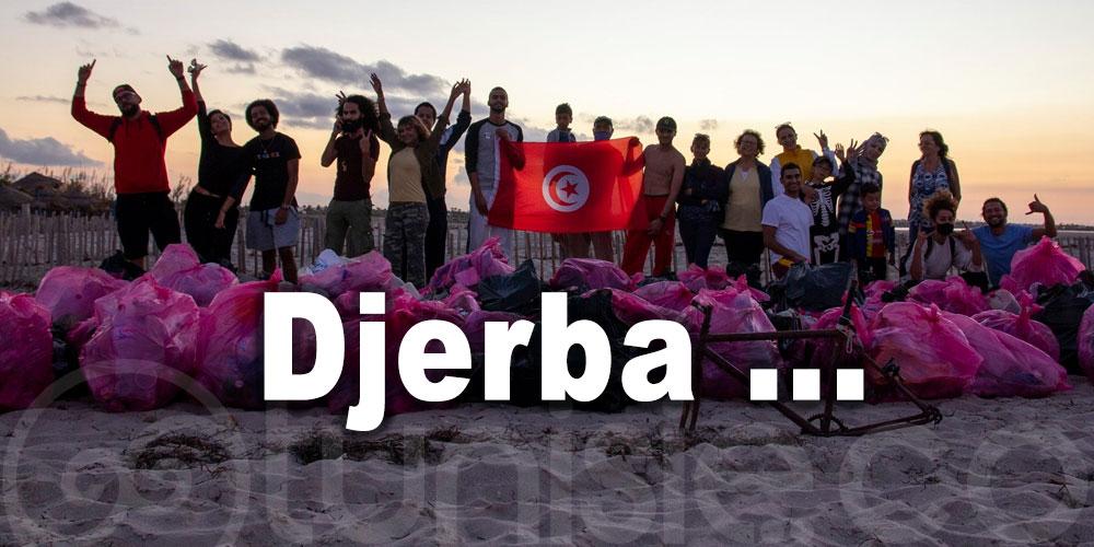 Campagne de nettoyage à Djerba menée par des jeunes