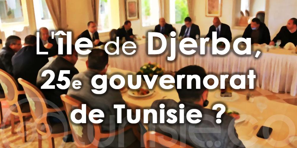 L'île de Djerba, 25e gouvernorat de Tunisie?