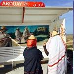 Les stations bus se sont transformés en vraies pièces d'art à Djerba