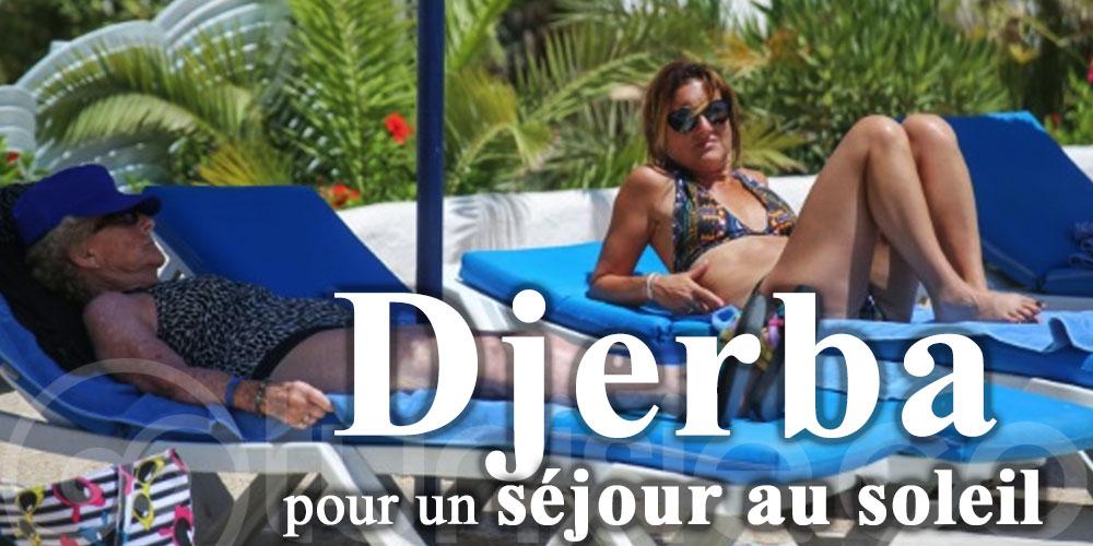 Arrivés sur l'île de Djerba, 155 touristes ont choisi la Tunisie pour un séjour au soleil