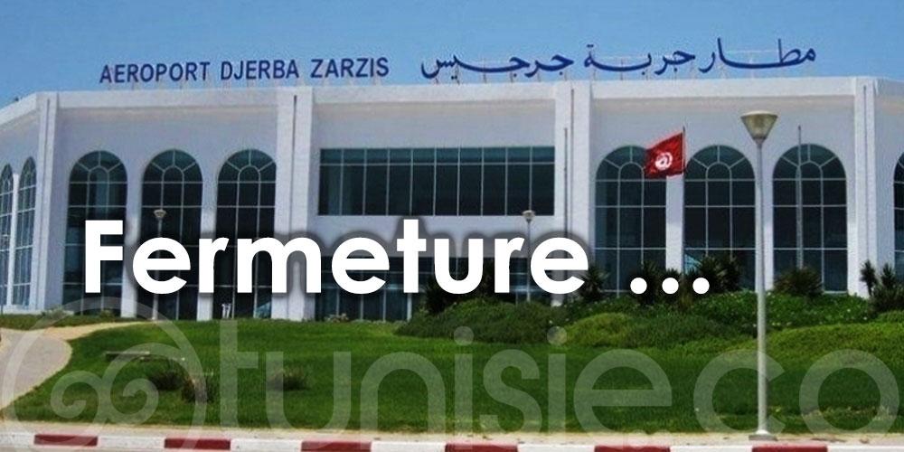 L'aéroport de Djerba-Zarzis sera fermé chaque lundi et mercredi