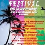 1er Festival des musiques du monde, à Djerba du 28 septembre au 2 octobre 2011