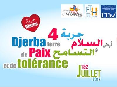 Profitez du Djerba Terre de Paix et de Tolérance, les 1 et 2 juillet