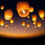 Lâcher de lanternes le 7 Août à Djerba
