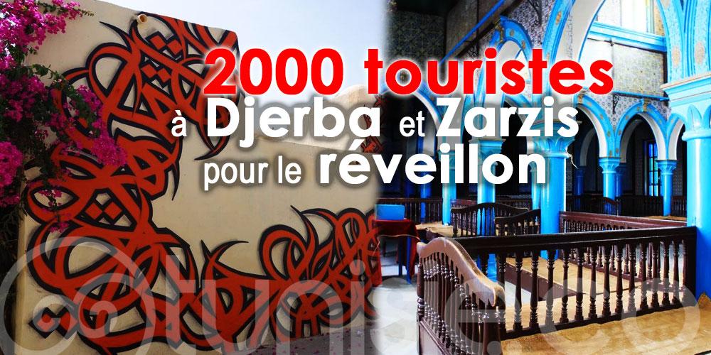 Environ 2000 touristes à Djerba et Zarzis pour le réveillon !