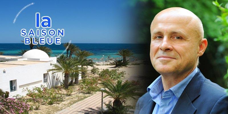 Olivier Poivre d'Arvor à Djerba pour présenter l'nitiative 'Saison Bleue'