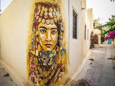 En 35 photos : Djerbahood un impressionnant panorama de Tunisian Street Art