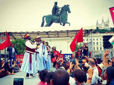 En photos : Djerba à l'honneur des Fêtes consulaires de Lyon