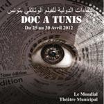 Doc à Tunis du 25 au 30 avril 2012