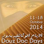 'Douz Doc Days' un festival aux portes du désert du 11 au 18 octobre 2014