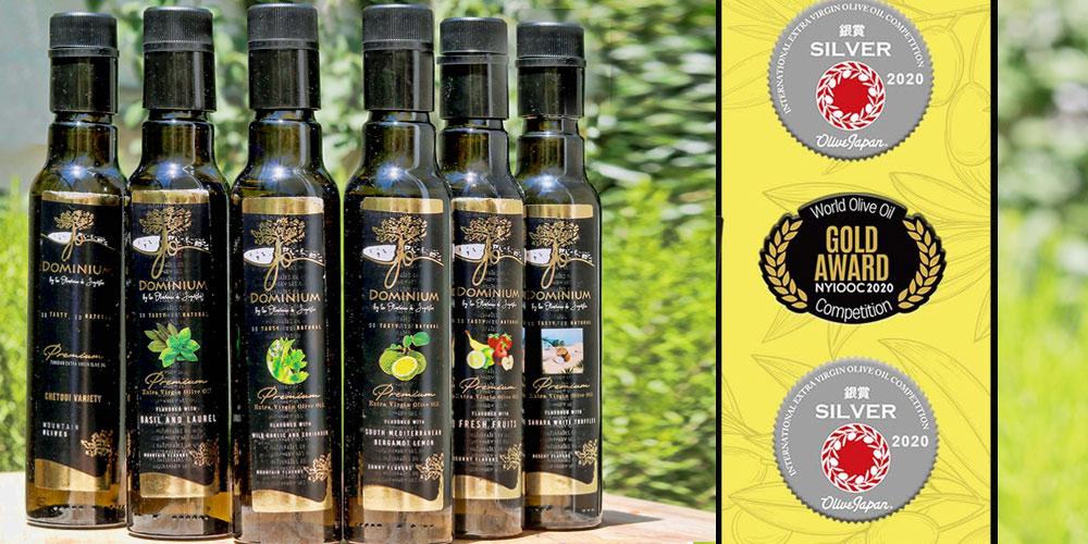 L'huile d'olive tunisienne DOMINIUM se distingue à New-York et à Tokyo