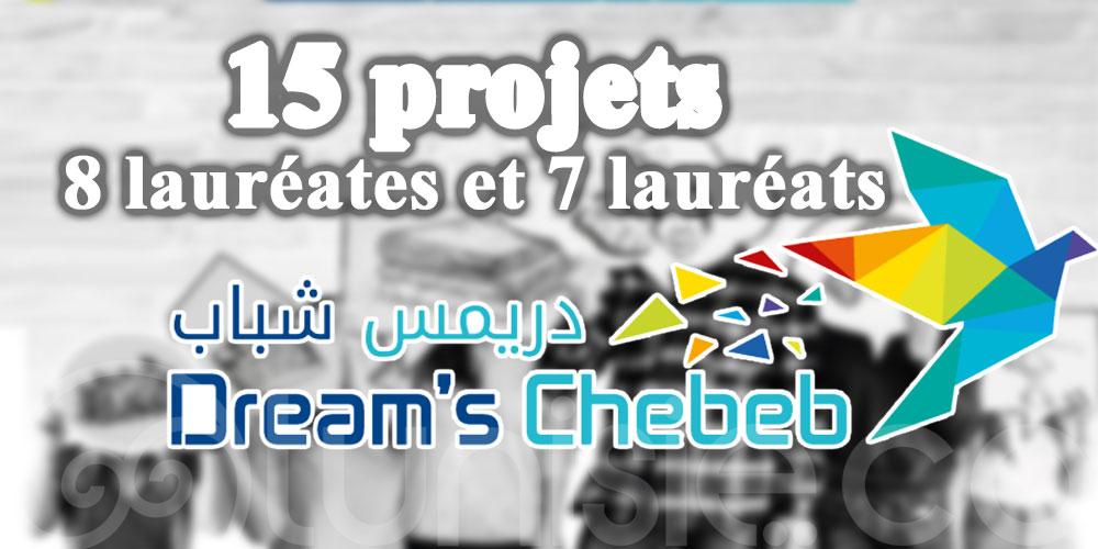 Dreams Chebeb 2ème édition: 15 projets portés par 8 lauréates et 7 lauréats