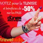 Une réduction de 50% sur les pass des Dunes Électroniques à tous les électeurs !