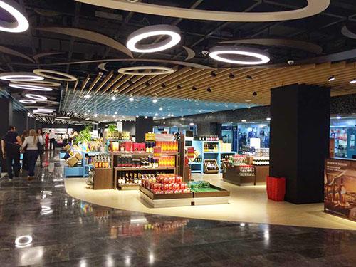 En photos : Découvrez le nouveau Free Shop de l´aéroport Tunis Carthage