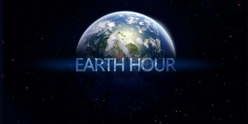 Earth Hour 2018 : Une pensée à notre chère planète