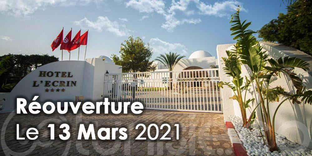 Hôtel l'Écrin Club réouvrira ses portes le 13 mars 2021