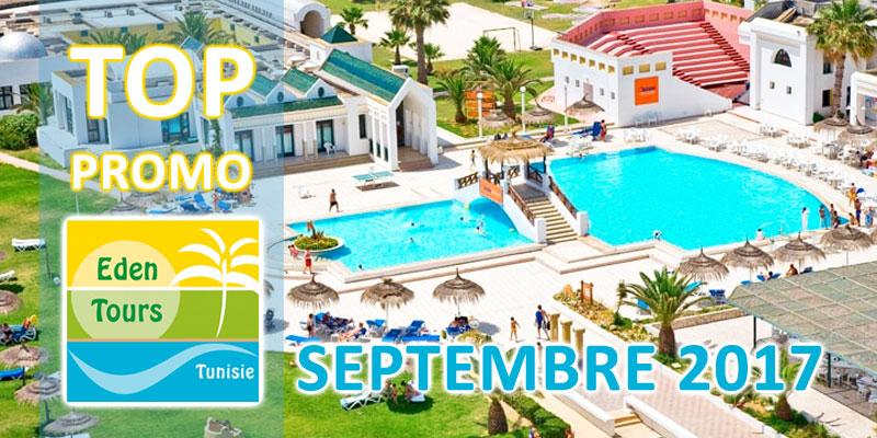Les 12 hôtels en Best Of Promo chez Eden Tours pour septembre