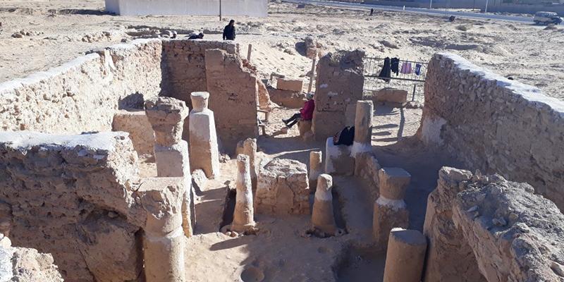 Une église entièrement conservée, ensevelie dans le sud tunisien