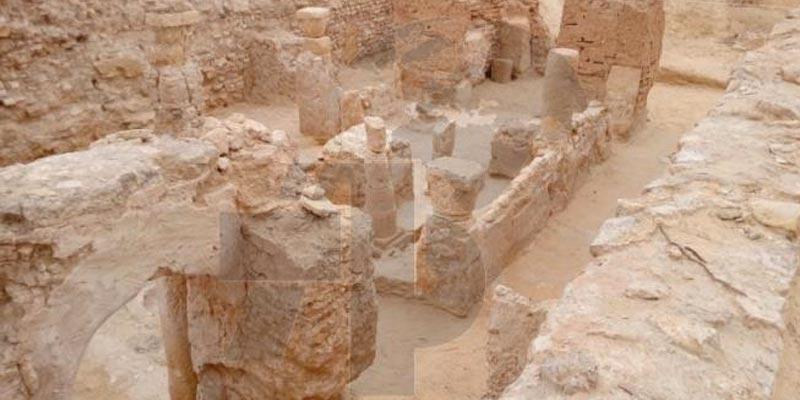 Tozeur : Découverte d'une église byzantine datant de l'époque romaine tardive