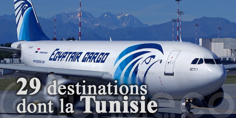 EgyptAir est de retour : 29 destinations dont la Tunisie