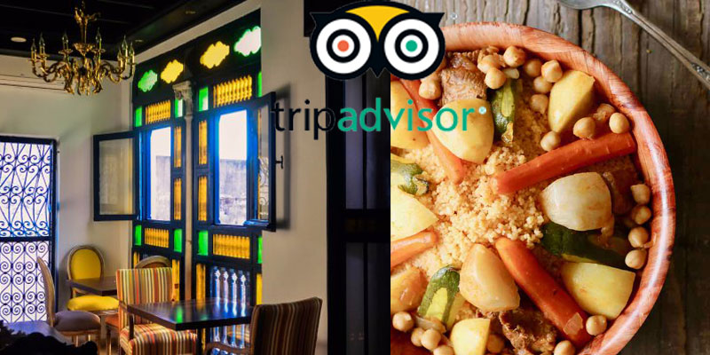 Où peut-on manger le meilleur couscous de Tunis selon Tripadvisor ?