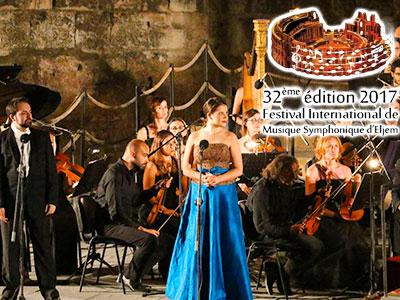 Hommage au Ténor Pavarotti à l'ouverture du Festival international de musique symphonique d'El Jem