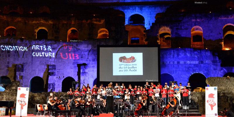 اختتام المهرجان الدولي للموسيقى السمفونية في الجم: دورة استثنائية بسهرات من العالم وابداعات تونسية