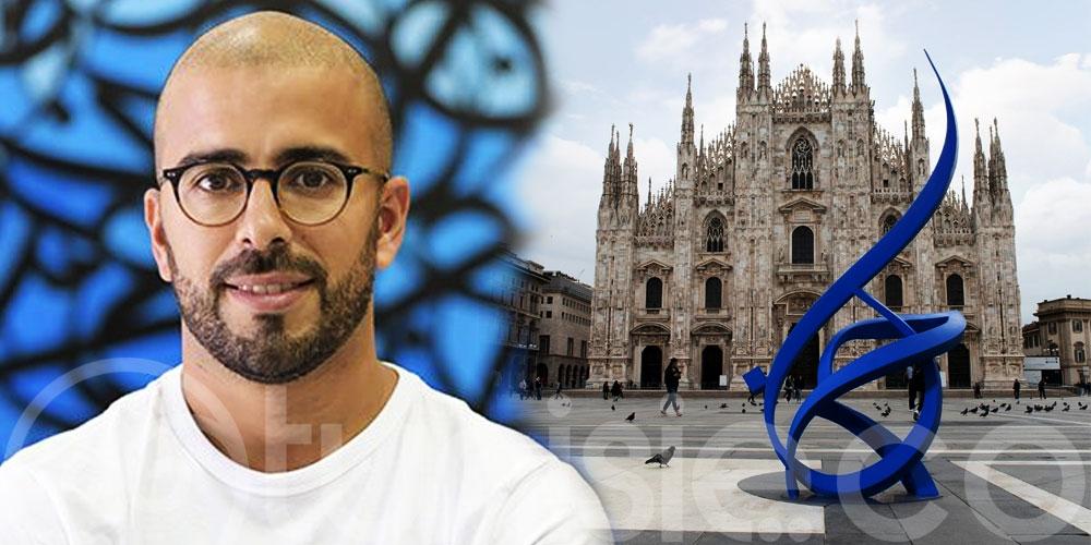 Photo du jour : eL Seed répand l'amour dans le monde et jusqu'à Milan en Italie