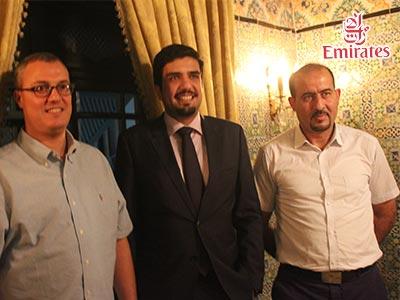 Emirates Tunisie présente son nouveau représentant à Tunis