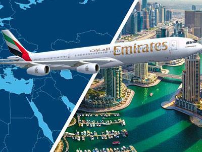 EMIRATES propose le Tunis - Dubai à 999 Dt visa compris