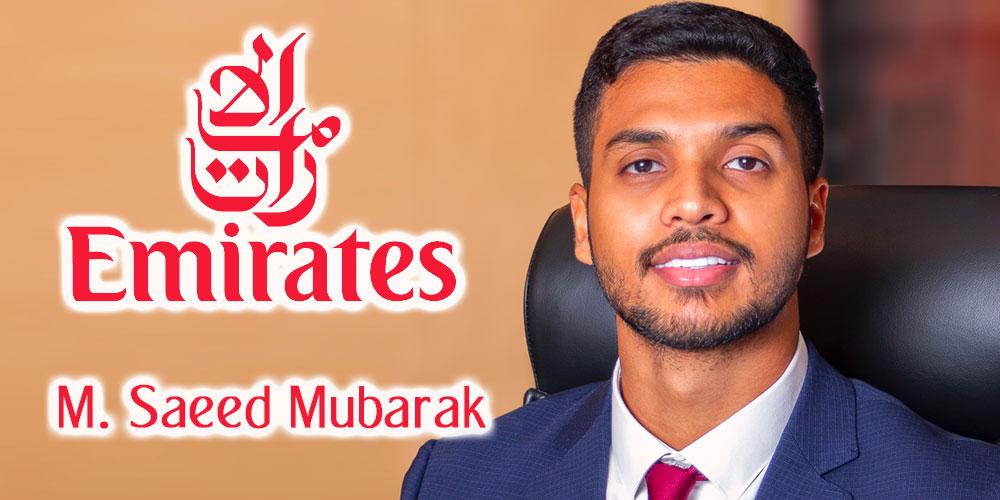 Le Présent et le Futur d'Emirates en Tunisie par Saeed Mubarak nouveau Country Manager