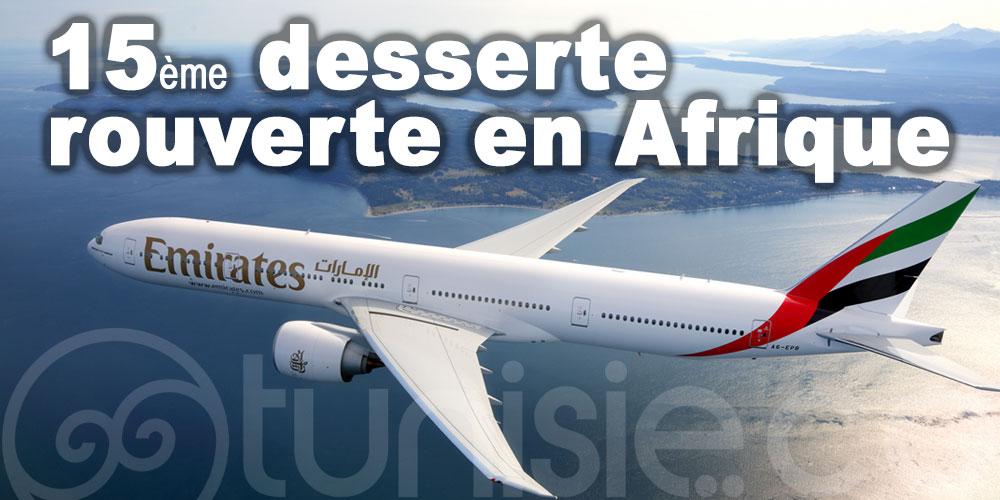 Emirates continue de rétablir progressivement son réseau africain
