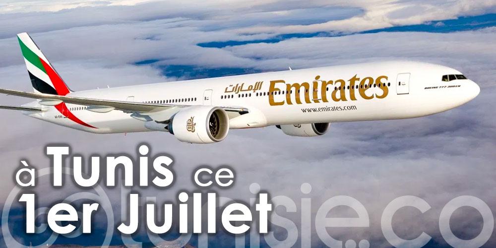 Emirates de retour à Tunis à partir du 1er juillet