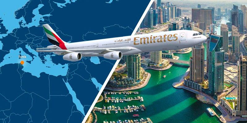 Emirates propose Dubaï à partir de 769 dinars