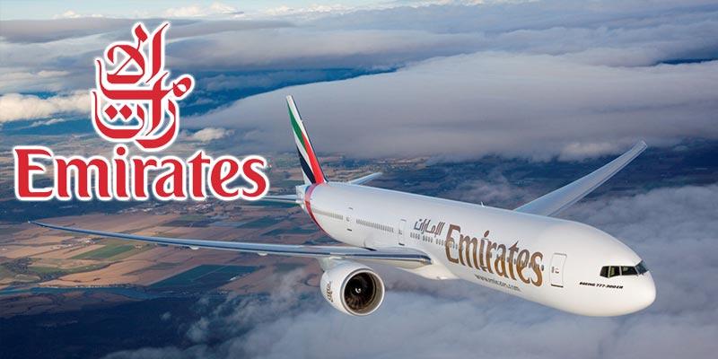 Officiel : Reprise des vols Emirates sur Tunis le 25 mars 2018