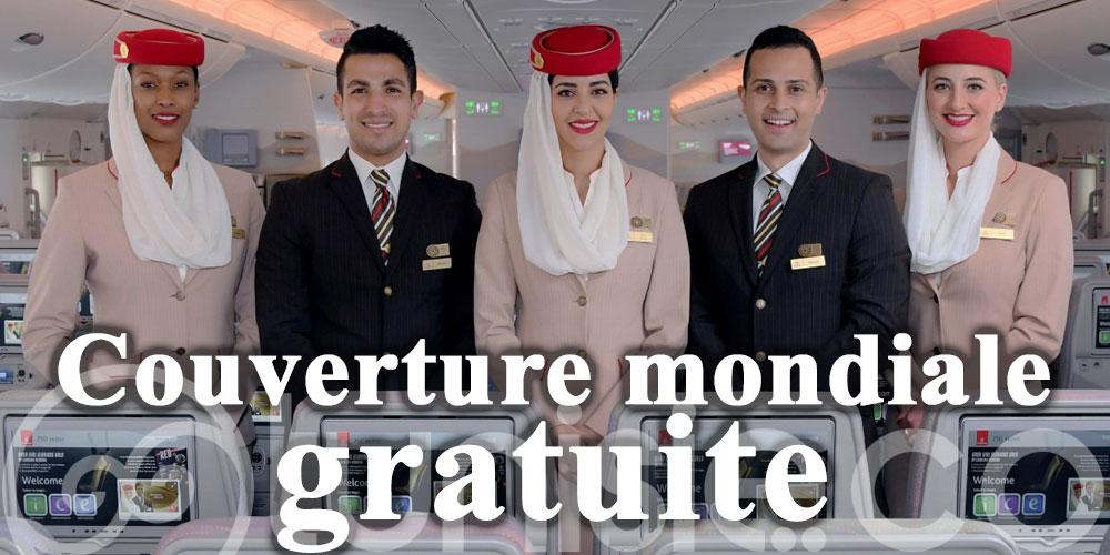 Emirates offre une couverture mondiale gratuite des dépenses Covid aux passagers