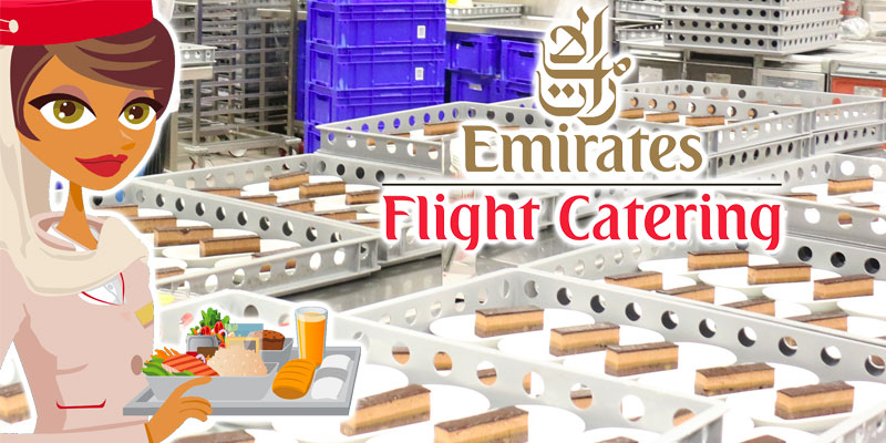 En vidéo : Découvrez le plus grand restaurant volant du monde Emirates Airlines Catering