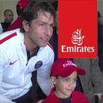 En vidéo : La rencontre du PSG et leurs fans à Tunis sur le Channel de Emirates