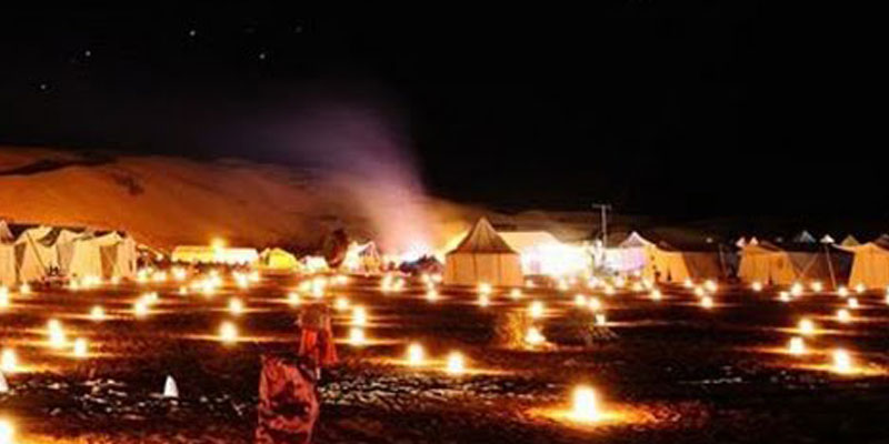 Douz : Le Glamping pour vivre le glamour du Sahara