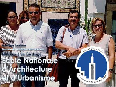 Les étudiants en Architecture au chevet la Municipalité de Sidi Bou Said