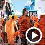 En vidéo : La Marche artistique des étudiants de l'ENAU à Sidi Bou Said