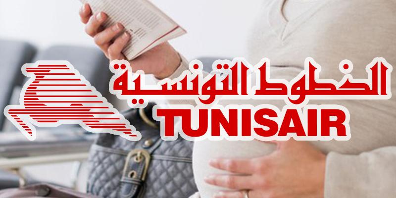 Tunisair vous dit tout sur les conditions de vol pour les femmes enceintes