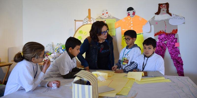Découvrez en photos l'exposition des travaux de l'école des designers à Bchira Art Center