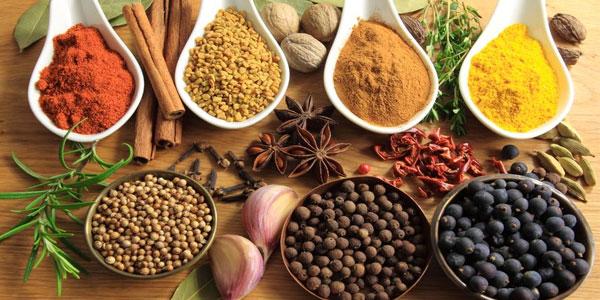 5 épices utilisées dans la cuisine tunisienne